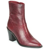 Pantofi Femei Botine Bronx NEW AMERICANA LOW Bordo
