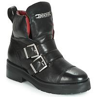Pantofi Femei Ghete Bronx GAMLETT Negru