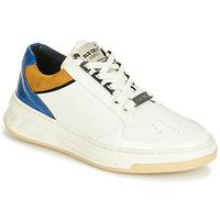 Pantofi Femei Pantofi sport Casual Bronx OLD COSMO Alb / Ocru / Albastru