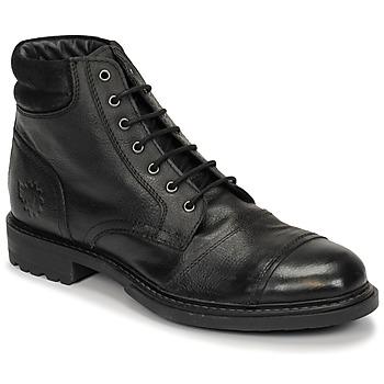 Pantofi Bărbați Ghete Base London REPTON Negru
