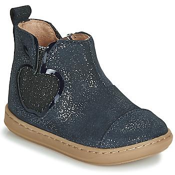 Pantofi Fete Ghete Shoo Pom BOUBA NEW APPLE Bleumarin