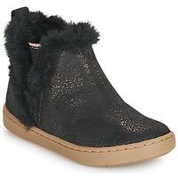Pantofi Fete Ghete Shoo Pom PLAY YETI Negru