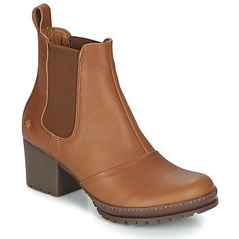 Pantofi Femei Botine Art CAMDEN Coniac