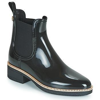 Pantofi Femei Cizme de ploaie Lemon Jelly AVA Negru / Auriu