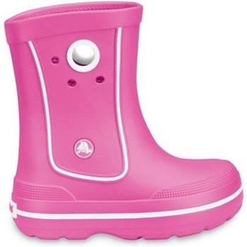 Pantofi Copii Cizme de cauciuc Crocs Crocs™ Kids' Crocband™ Jaunt Bright pink