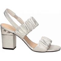 Pantofi Femei Sandale  What For ALMA silver