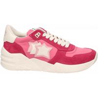 Pantofi Femei Pantofi sport Casual Atlantic Stars VENUS rosso-rosa