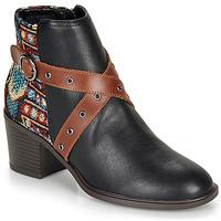 Pantofi Femei Botine Desigual ALASKA TAPESTRY Negru