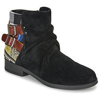 Pantofi Femei Ghete Desigual OTTAWA PATCH Negru