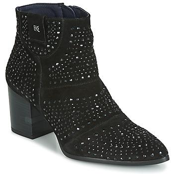 Pantofi Femei Botine Dorking LESLY Negru