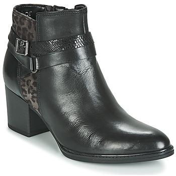 Pantofi Femei Botine Gabor 3289367 Negru / Leopard