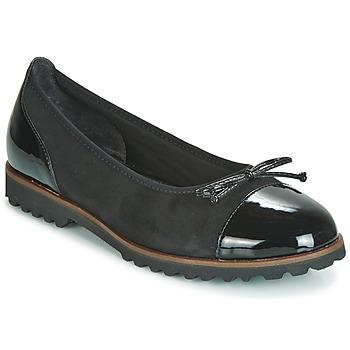 Pantofi Femei Balerin și Balerini cu curea Gabor 3410037 Negru