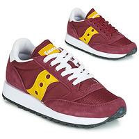 Pantofi Femei Pantofi sport Casual Saucony JAZZ ORIGINAL VINTAGE Roșu-bordeaux / Galben