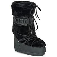 Pantofi Femei Cizme de zapadă Moon Boot MOON BOOT CLASSIC FAUX FUR Negru