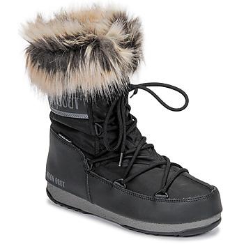 Pantofi Femei Cizme de zapadă Moon Boot MOON BOOT MONACO LOW WP 2 Negru