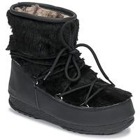 Pantofi Femei Cizme de zapadă Moon Boot MOON BOOT MONACO LOW FUR WP Negru