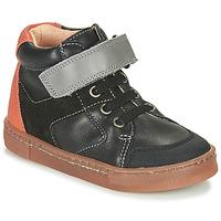 Pantofi Băieți Pantofi sport stil gheata Babybotte KEN Negru / Portocaliu