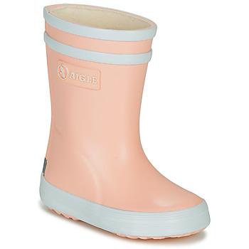 Pantofi Fete Cizme de cauciuc Aigle BABY FLAC Roz