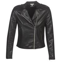 Îmbracaminte Femei Jachete din piele și material sintetic Kaporal XUT Negru