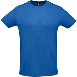 Îmbracaminte Bărbați Tricouri mânecă scurtă Sols SPRINT SPORTS Azul