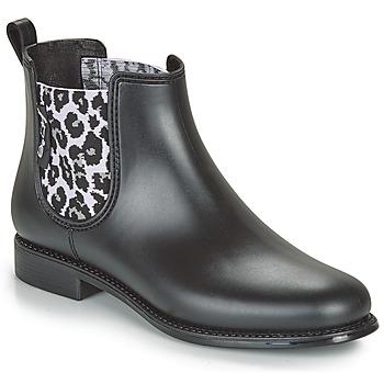 Pantofi Femei Cizme de cauciuc Be Only DAKAR Negru / Leopard