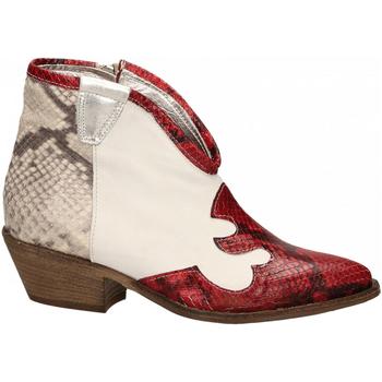 Pantofi Femei Botine Le Pure  bianco-roccia-rosso