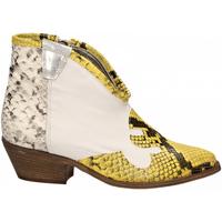 Pantofi Femei Botine Le Pure  bianco-roccia-giallo