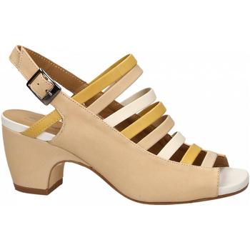 Pantofi Femei Sandale  Salvador Ribes MAGGY NUVOLA avorio-ginestra-bian