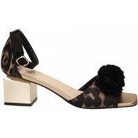 Pantofi Femei Sandale  Jeannot SCARPE D platino---nero