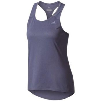 Îmbracaminte Femei Maiouri și Tricouri fără mânecă adidas Originals Supernova Tank Top W Albastru marim