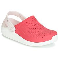 Pantofi Fete Saboti Crocs LITERIDE CLOG K Roșu / Alb