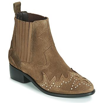 Pantofi Femei Ghete Pepe jeans CHISWICK LESSY Maro