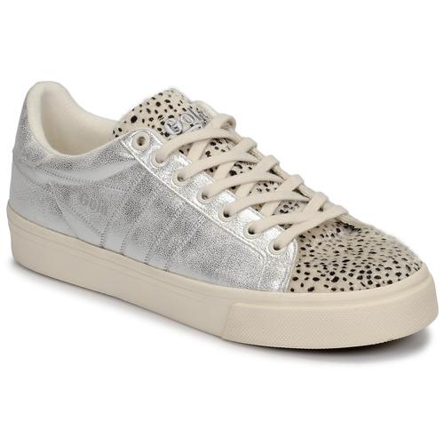 Pantofi Femei Pantofi sport Casual Gola ORCHID II CHEETAH Alb / Argintiu