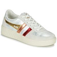 Pantofi Femei Pantofi sport Casual Gola GRANDSLAM SHIMMER FLARE Bej / Argintiu