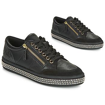 Pantofi Femei Pantofi sport Casual Geox D LEELU' Negru