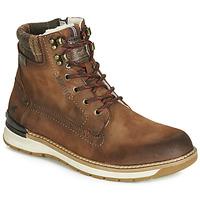 Pantofi Bărbați Ghete Mustang 4141602-362 Maro