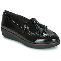 Pantofi Femei Mocasini FitFlop PETRINA MOCASSIN Negru