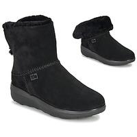 Pantofi Femei Ghete FitFlop MUKLUK SHORTY III Negru