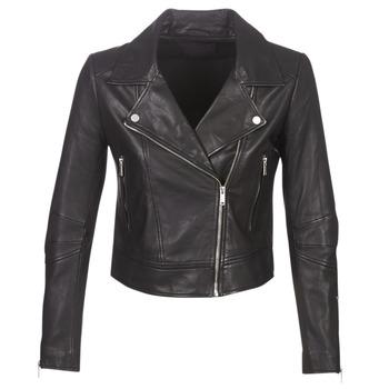 Îmbracaminte Femei Jachete din piele și material sintetic Ikks BM48145-02 Negru
