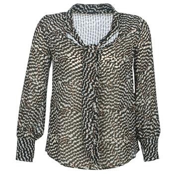 Îmbracaminte Femei Topuri și Bluze Ikks BP13065-02 Bej / Negru