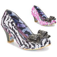 Pantofi Femei Pantofi cu toc Irregular Choice LADY BANJOE Alb / Negru