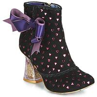 Pantofi Femei Botine Irregular Choice OUTTA TIME Negru