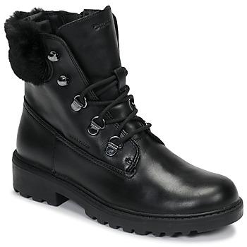Pantofi Fete Ghete Geox J CASEY GIRL WPF Negru