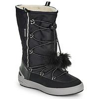 Pantofi Fete Cizme de zapadă Geox J SLEIGH GIRL B ABX Negru