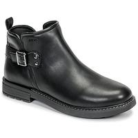 Pantofi Fete Ghete Geox J ECLAIR GIRL Negru