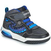 Pantofi Băieți Pantofi sport stil gheata Geox J INEK BOY Negru / Albastru