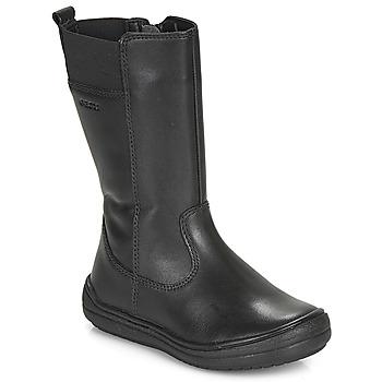 Pantofi Fete Cizme casual Geox J HADRIEL GIRL Negru