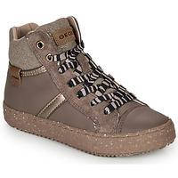 Pantofi Fete Pantofi sport stil gheata Geox J KALISPERA GIRL Gri