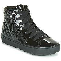 Pantofi Fete Pantofi sport stil gheata Geox J KALISPERA GIRL Negru