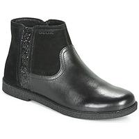 Pantofi Fete Ghete Geox J SHAWNTEL Negru
